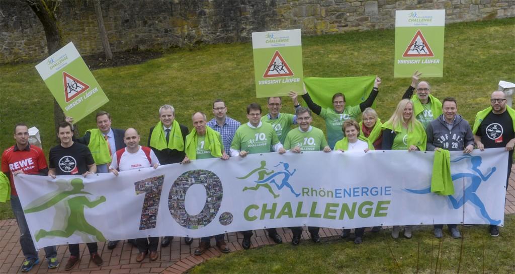 Auf der Pressekonferenz am 3.3.2016 wurden alle Aktionen rund um die 10. RhönEnergie Challenge vorgestellt.