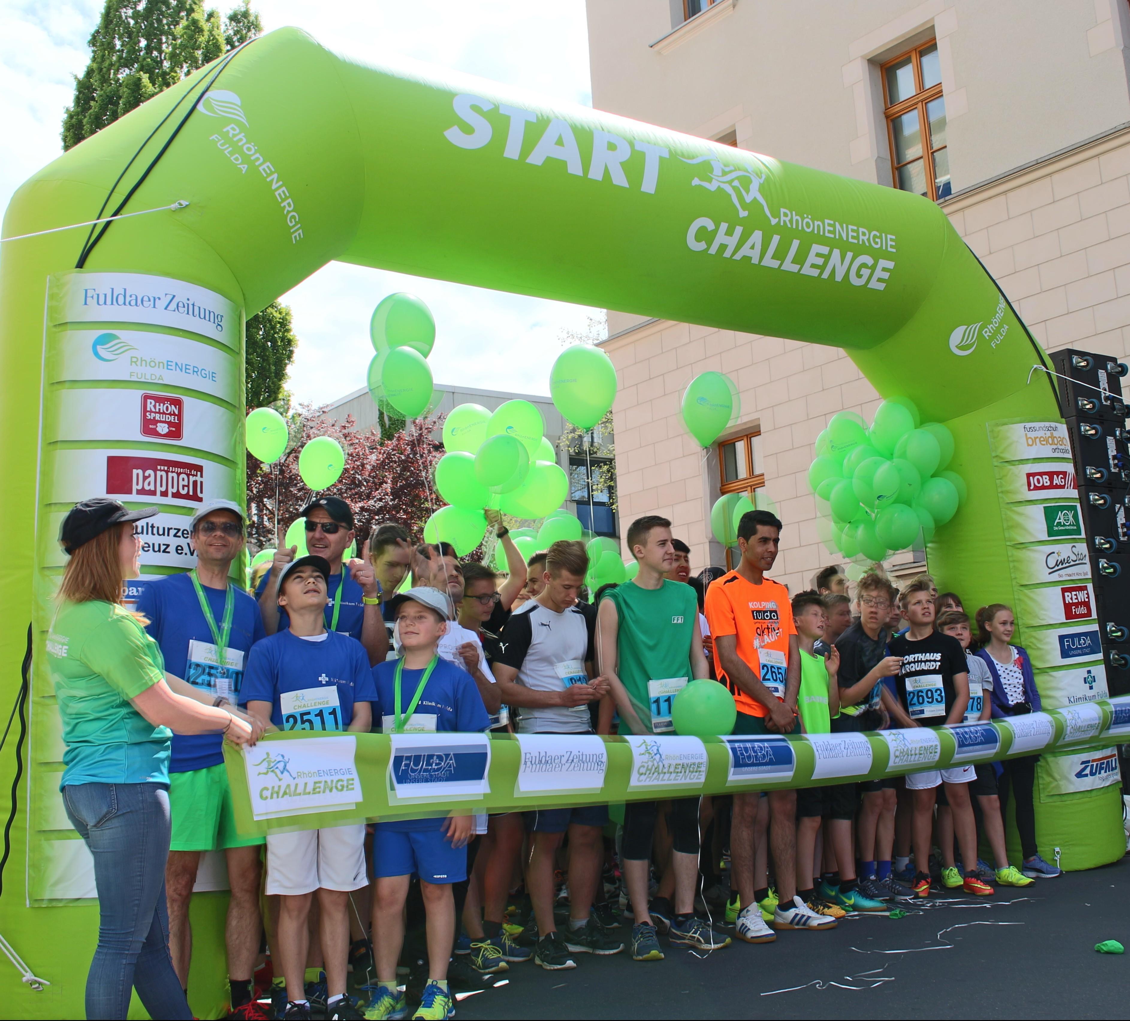 Startpunkt ChallengeLauf 2017