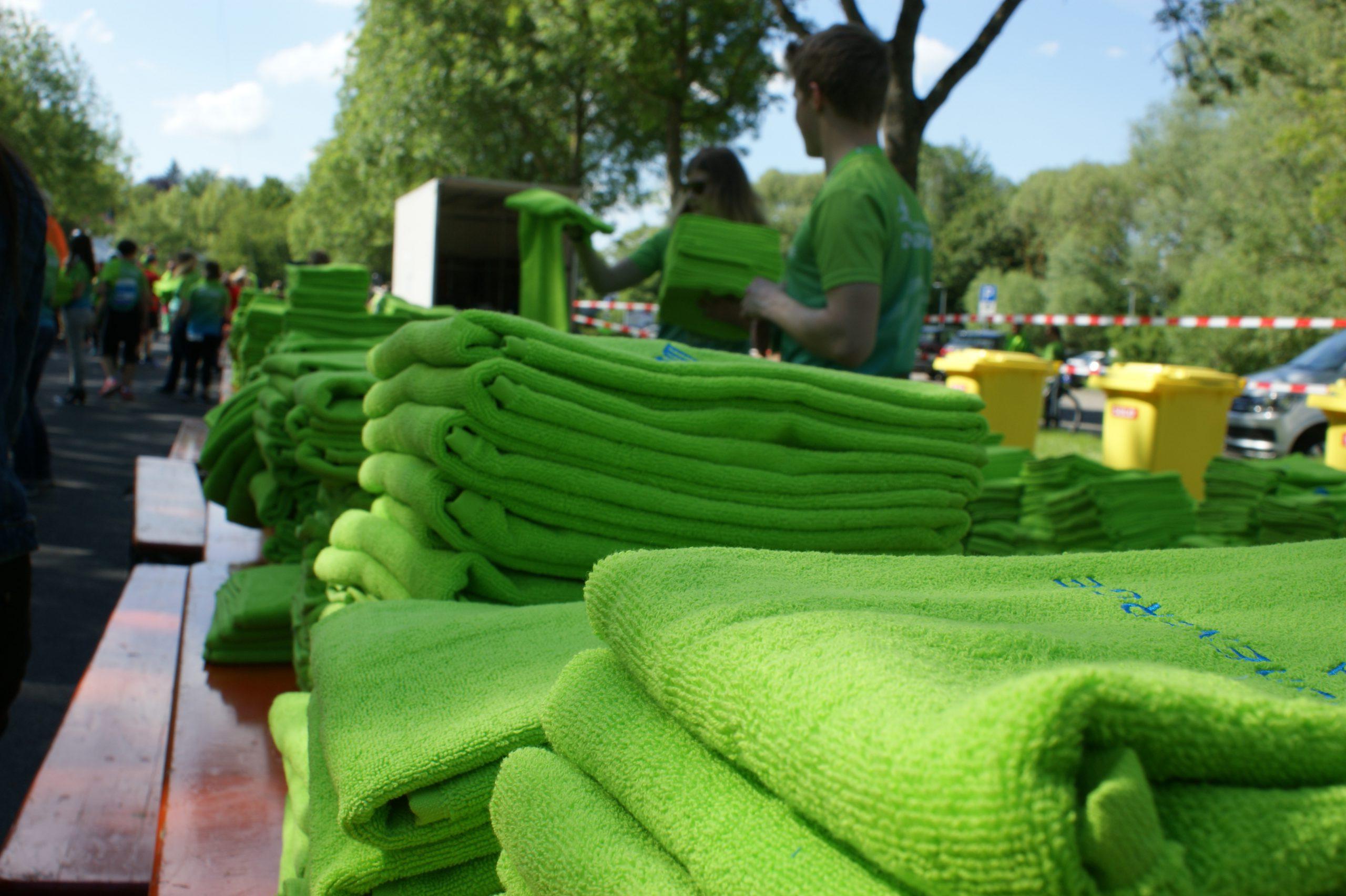 Das geliebte Handtuch gibt es auch bei der virtuellen RhönEnergie Challenge 2020. :-)